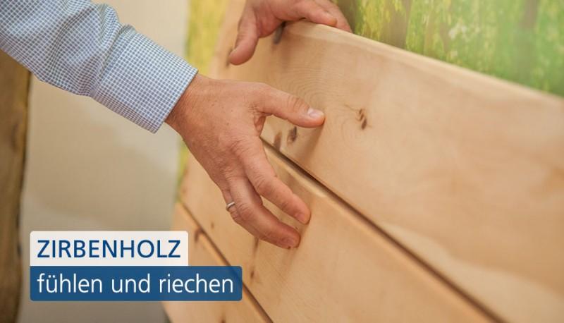 Vom Klassiker zum Trend: Zirbenholzbetten.