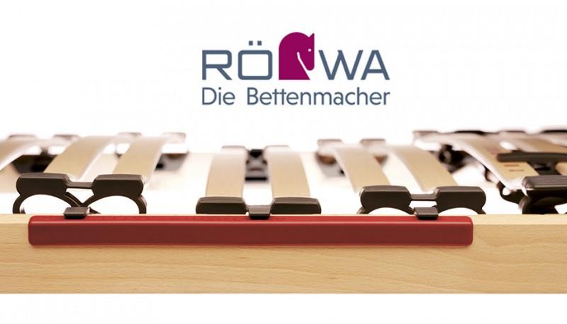 Röwa Ecco2 – Bett und Lattenrost mit System