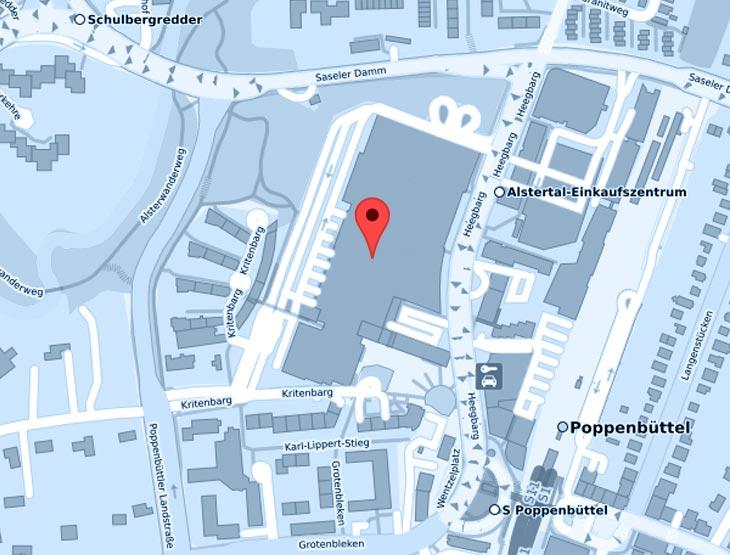 Filiale im Alstertal-Einkaufszentrum | Standort