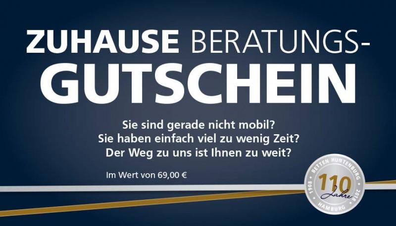 ZUHAUSE BERATUNGS-GUTSCHEIN - wir schenken Ihnen 69,00 €
